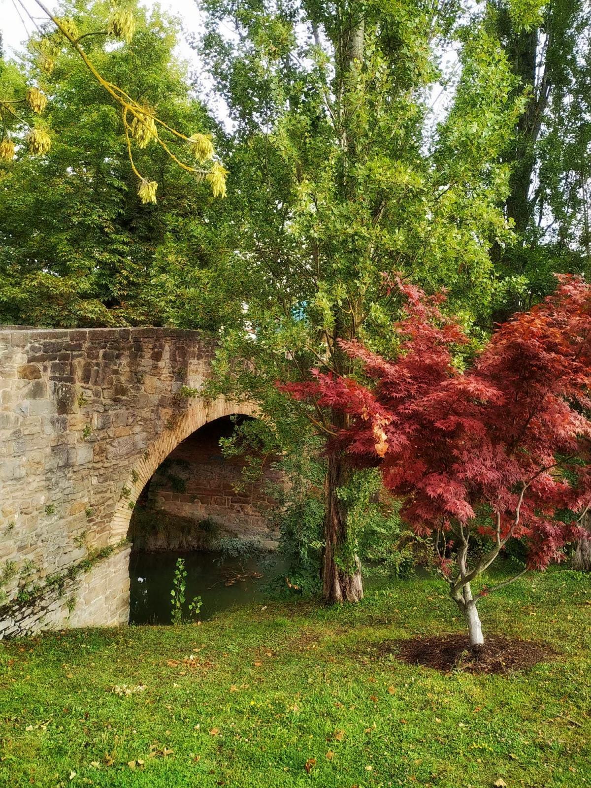 Puente Acella Landa sobre el Sadar